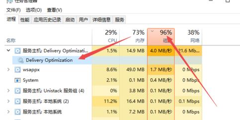 win10系统Delivery Optimization是什么?Delivery Optimization占网速解决方法